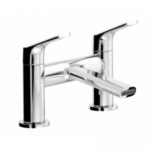 Abode AB2651 Squire Deck Mounted Bath Filler - Chrome