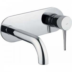 Abode AB4041 Chao Wall Mounted Basin Mixer - Chrome