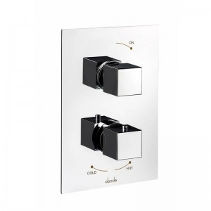 Abode Zeal Concealed Thermostatic Shower Valve - 1 Exit - Chrome - [AB4511]