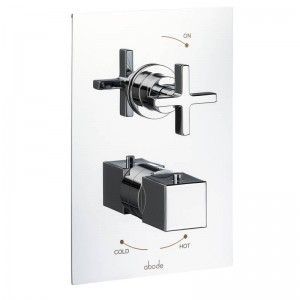 Abode Serenitie Concealed Thermostatic Valve - 1 Exit - Chrome - [AB4512]