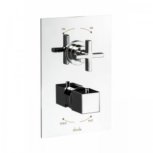 Abode Serenitie Concealed Thermostatic Valve - 2 Exit - Chrome - [AB4532]