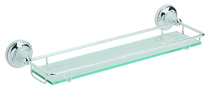 HERITAGE ACC08 Clifton Gallery Shelf - Chrome