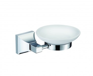 HERITAGE ACHSPDC Chancery Soap Dish - Chrome