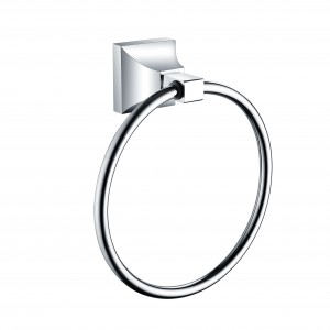 HERITAGE ACHTRGC Chancery Towel Ring - Chrome