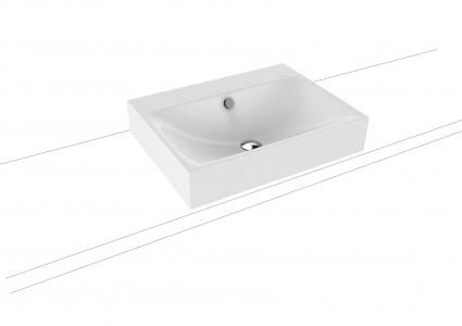 Kaldewei Ambiente Silenio Countertop Basin 60 x 46cm. One tap hole [904106013001]