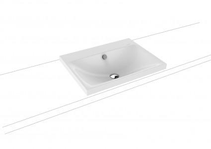 Kaldewei Ambiente Silenio Countertop Basin 60 x 46cm. One tap hole [903906013001]