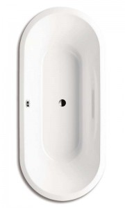 Kaldewei 233100010001 Ambiente Vaio Duo Oval Double Ended Bath 1800 x 800mm