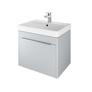 The White Space AMF60MG Americana 58.5cm Wall Hung Vanity Unit - Mid Grey