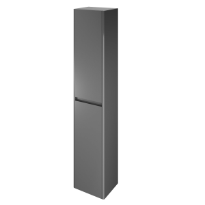 The White Space AMFTBAG Americana 140cm Tall Cabinet - Anthracite Grey