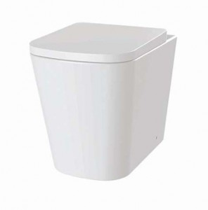 The White Space Anon Rimless Back to Wall WC Pan - White [ANW1]