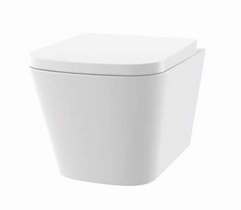 The White Space Anon Rimless Wall Mounted WC Pan [ANW2]