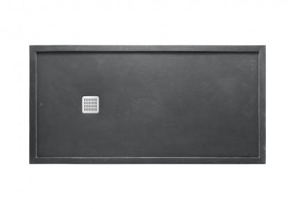 ROCA Rectangle Terran Super Slim Shower Tray with frame - 100 x 80 x 3.6cm  AP1023E832041200