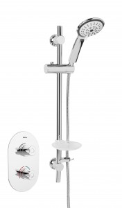 BRISTAN Artisan Recessed Thermostatic Dual Control Shower Valve with Kit Chrome