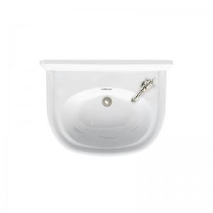Burlington ARC5001THRH Arcade Cloakroom Basin 500 x 400mm 1 Right Hand Taphole White