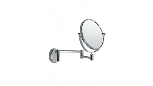 Inda Magnifying Mirror 3 x Magnification 23 x 27h x 35cm - Chrome  [AV058CCR]