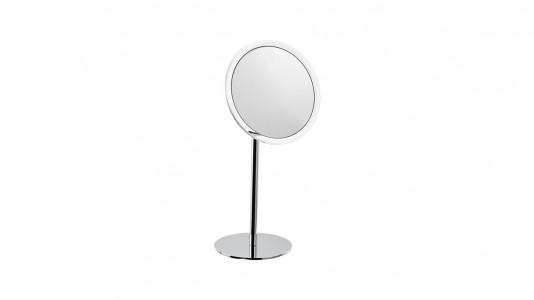 Inda Magnifying Mirror 3 x Magnification 20 x 41h x 15cm. - Chrome  [AV058PCR]