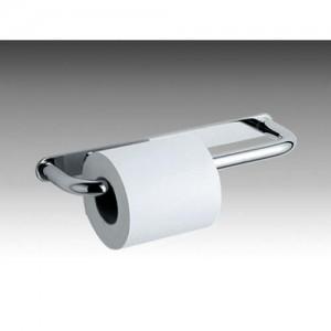 Inda Ego Double Toilet Roll Holder 32 x 3 h x 8cm - Chrome  [AV426DCR]