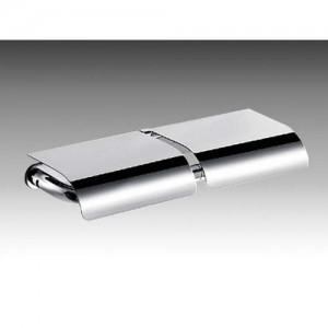 Inda Ego Double Toilet Roll Holder 33 x 4h x 12cm - Chrome  [AV426ECR]