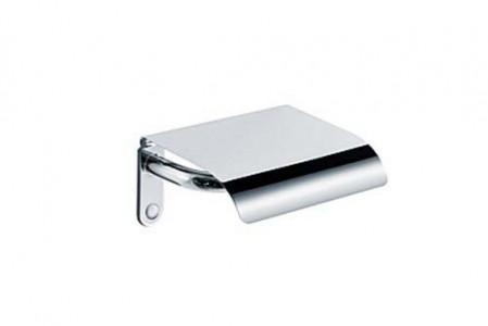 Inda Ego Toilet Roll Holder 16 x 8h x 12cm - Chrome  [AV426FCR]