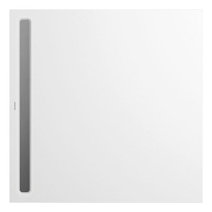 Kaldewei Nexsys Channel Covers - of 100cm length.  - Brushed Stainless Steel  [687771250969]
