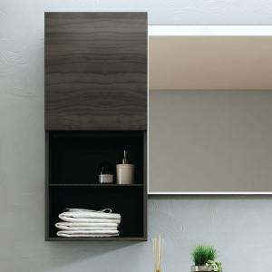 Imex Ceramics FCHM2775-400-B0031 Liberty Wall Storage Cabinet Grey Oak