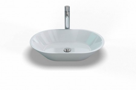 Clearwater Sontuoso Basin 59 x 14h x 39cm. No tap hole no overflow - Natural Stone [B5E]