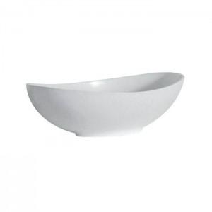 BC Designs BAB105 Kurv Basin 615 x 360mm No Tapholes Polished White