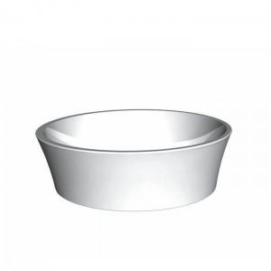 BC Designs BAB120 Delicata Basin 450 x 450mm No Tapholes Polished White