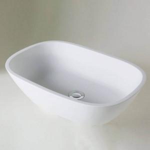 BC Designs BAB164 Vive Basin 530 x 360mm No Tapholes Polished White