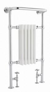 Bayswater BAYR003 Clifford Towel Rail/Radiator 963 x 540mm White/Chrome