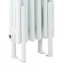 Bayswater BAYR999 Nelson Floor Mounting Kit 310 x 27mm White