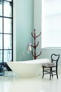 BC Designs BAB005 Kurv Solid Surface Bath 1890 x 900mm Polished White