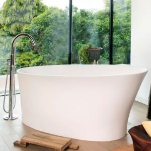 BC Designs BAB020 Delicata Solid Surface Bath 1520 x 715mm Polished White