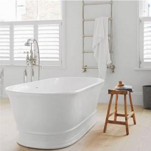 BC Designs BAB030 Aurelius Solid Surface Bath 1740 x 760mm Polished White