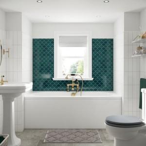 BC Designs BAI032 SolidBlue Lambert Double Ended Bath 1700 x 700mm