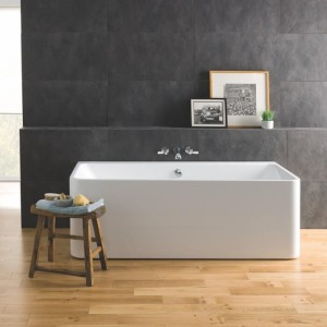 BC Designs BAS022 Murali Back-To-Wall Bath 1720 x 740mm