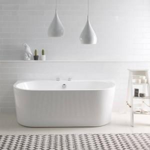 BC Designs BAS055 Ancora Back-To-Wall Bath 1640 x 760mm