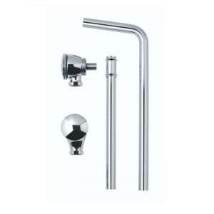 BC Designs WAS050 Push Down Exposed Extended Waste Chrome