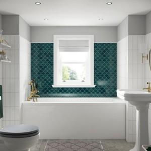 BC Designs BAI001 SolidBlue Modica Single Ended Bath 1500 x 700mm