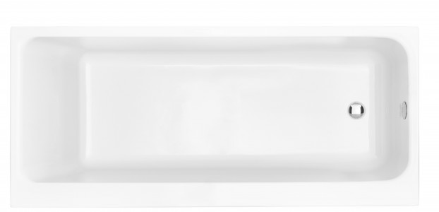 HERITAGE BHPW1770S Blenheim Single Ended Fitted Acrylic Bath - No Tapholes
