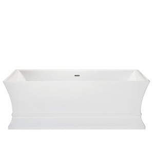 HERITAGE BPRFSW00 1695mm Penrose Double Ended Acrylic Bath - No Tapholes