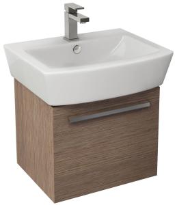 Imex Ceramics BQ55WMSO Bloque Single Drawer Cabinet 470x380mm Soft Oak
