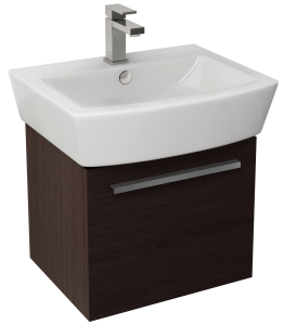 Imex Ceramics BQ55WMW Bloque Single Drawer Cabinet 470x380mm Wenge