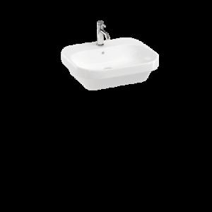 Britton Curve 2 55cm Washbasin - White - 550 x 450 x 180 mm [CUR2005]