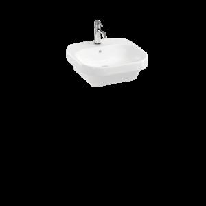 Britton Curve 2 45cm Washbasin - White - 450 x 450 x 160 mm [CUR2006]