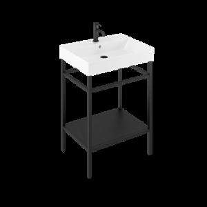 Britton Trim 50cm Inset Washbasin - 1 Tap hole - White - 500 x 400 x 160 mm [TRIM006]