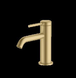 Britton Hoxton Monobloc Basin Mixer - Brushed Brass [HOX001BB]