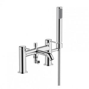 Britton Hoxton Bath Shower Mixer - Chrome [HOX008CP]