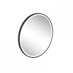 Britton Hoxton LED Mirror 800 x 800h x 46mm - Black  [HOX022MB]