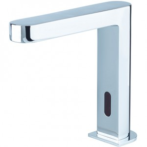 BRISTAN Infrared Automatic Timed Flow Basin Spout Brushed Nickel